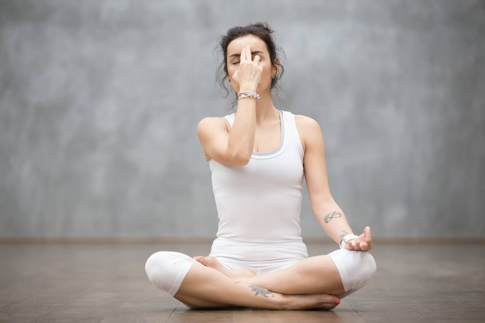 Sheetali pranayama may clear the acne away