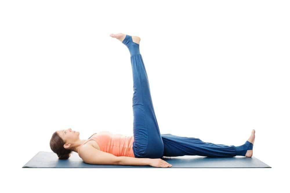 Uttanpadasana improves the reproductive system