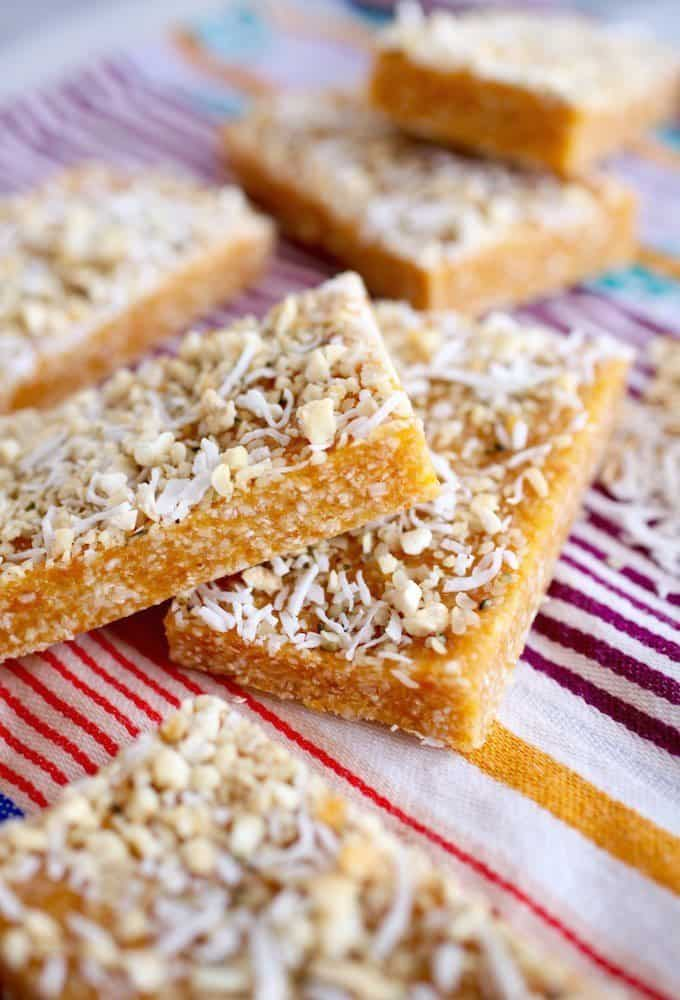 Apricot And Cashew Bars