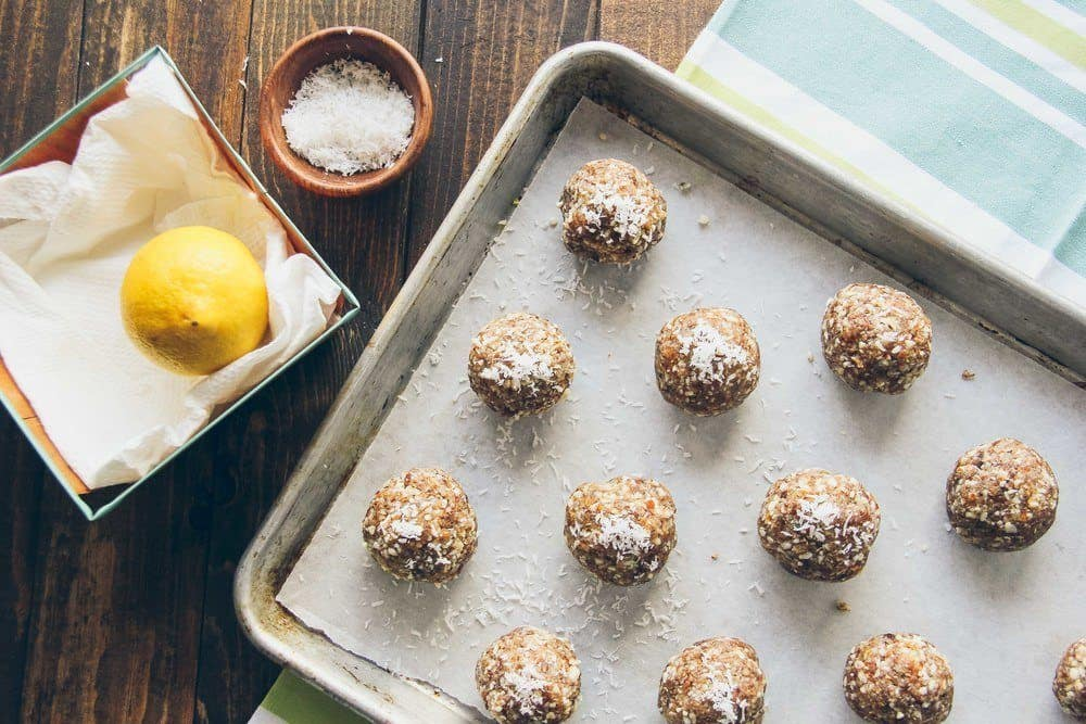 Coconut Lemon Energy Snacks