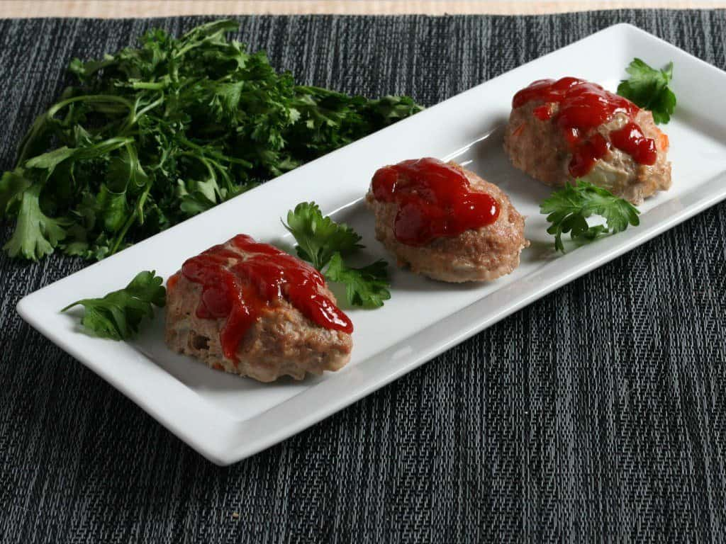 Mini Paleo Meatloaves