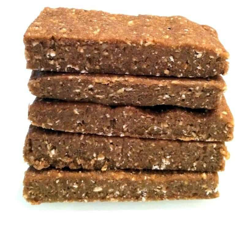 No-Bake Banana Nut Protein Bars