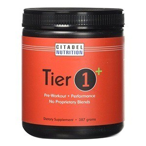 Tier 1 Plus Preworkout / Performance Supplement