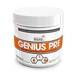 Genius Pre Workout – All Natural Nootropic Preworkout Powder