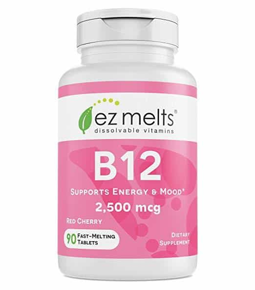 EZ Melts B12 (2500 mcg)