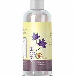 Maple Holistics Sage Shampoo for Dandruff and Hair Loss