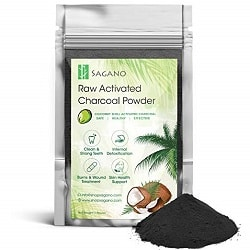 Sagano Raw Activated Charcoal Powder