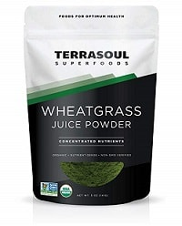 Terrasoul Superfoods Organic Wheatgrass Juice Powder