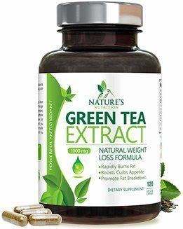 Natures' Nutrition 1000 mg Green Tea Extract with EGCG