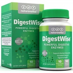 DigestWise Digestive Enzymes by Naturenetics