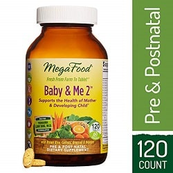 MegaFood Baby & Me 2 Supplement