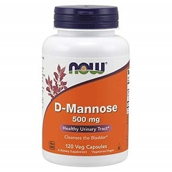 Now D-Mannose 500mg