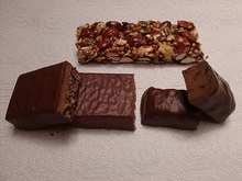 three protein bars compared
