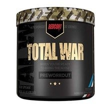 redcon total war pre workout firecracker flavor