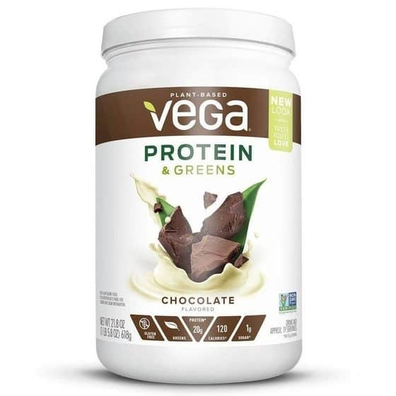 Vega Protein & Greens Protein Chocolate flavor