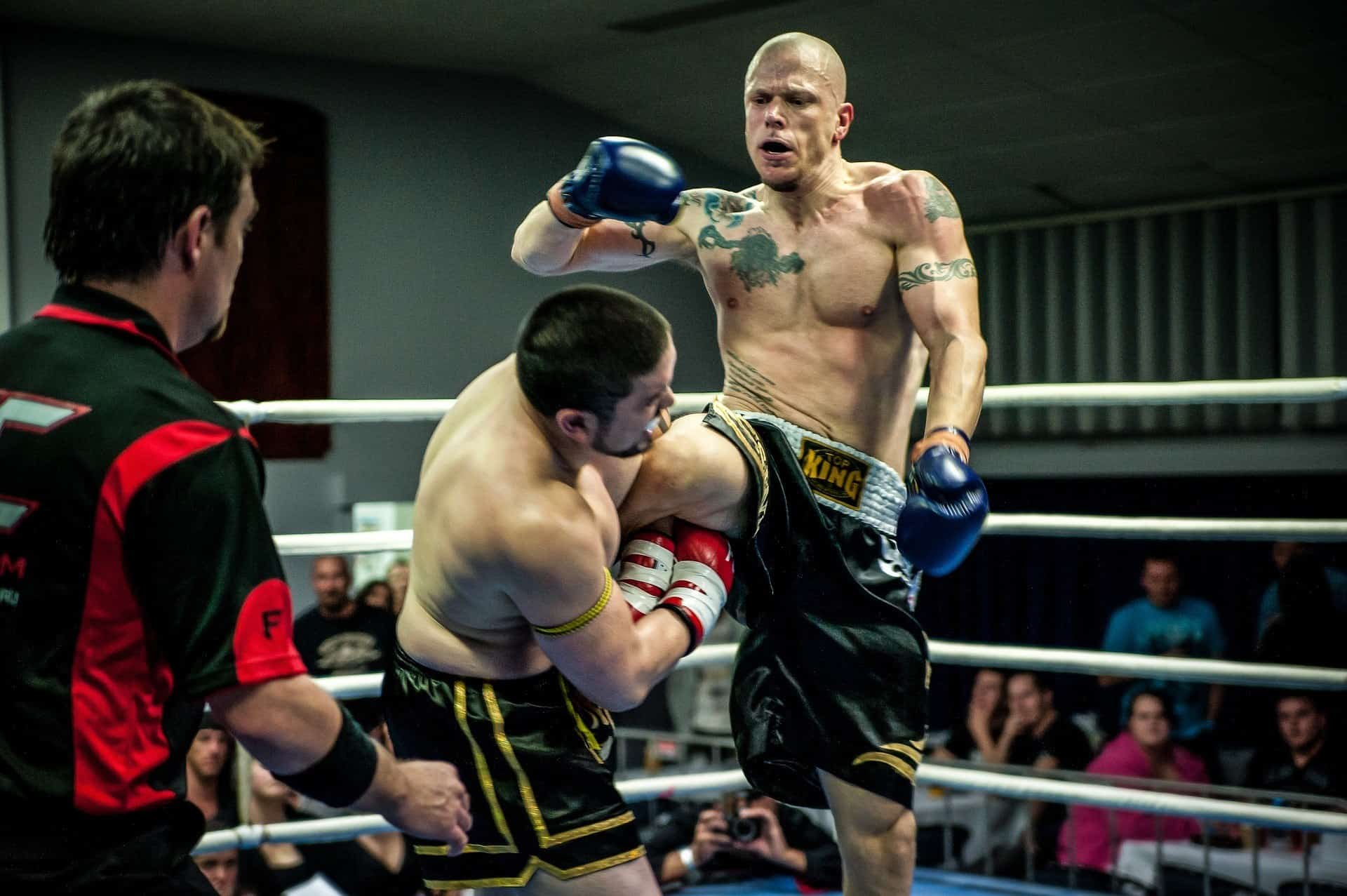 Athletes on a sparring spree