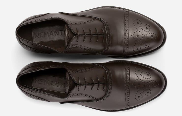 a pair of Nemanti shoes