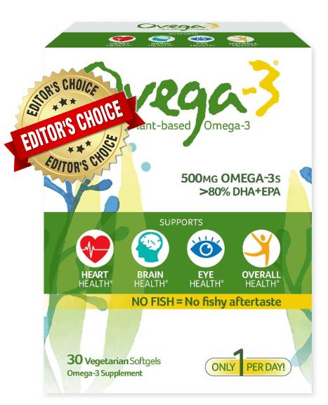 1. Ovega-3 Plant-Based Omega 3 Capsules