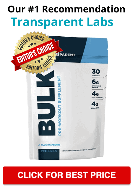Transparent Labs Bulk Pre-Workout Product