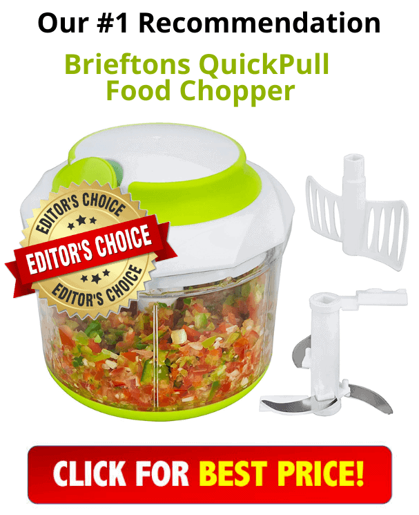 Brieftons QuickPull Food Chopper (4-Cup) Product