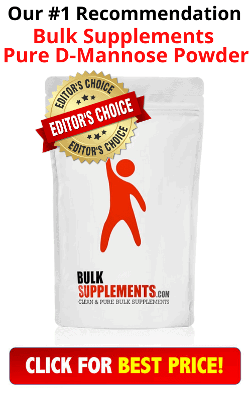 Bulk Supplements Pure D-Mannose Powder product