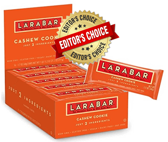 1. Larabar Cashew Cookie