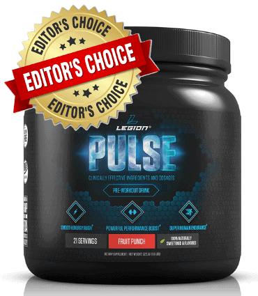 Legion Pulse Pre-Workout Supplement image