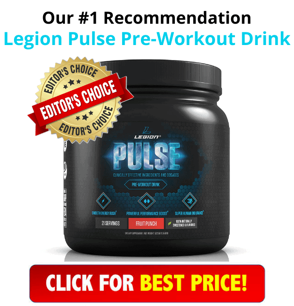 Legion Pulse Pre-Workout Supplement Product
