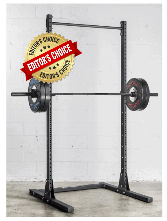 1. Rogue S-2 Squat Stand with Matador Dip Station