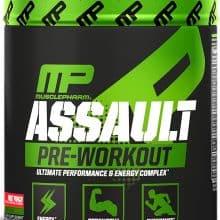 musclepharm assault pwo powder