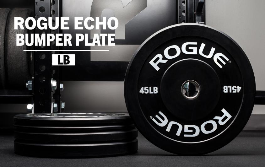 rogue echo bumper plate
