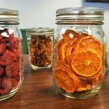 Assorted dried fruit in mason jars - featured image